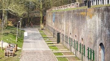 Kantoorlocatie Kenniscentrum Hollandse Waterlinies op Fort bij Vechten